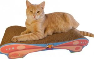 Бабочка для кошачьих когтей