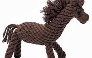 Лошадка для собаки