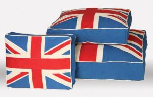Подушка в стиле Лондон