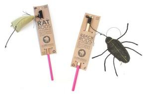 Экологичные дизайнерские игрушки для котят
