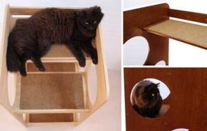 Башня для активных котов