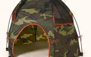 Собачья палатка для летних деньков
