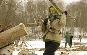 В Смоленское Поозерье требуются добровольные строители вольеров для зубров