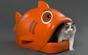 Элегантный дизайн кошачьих туалетов