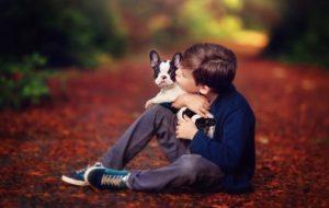 Как научить ребенка быть хорошим хозяином для собаки