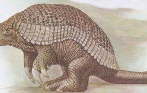 Броненосцы, современники динозавров